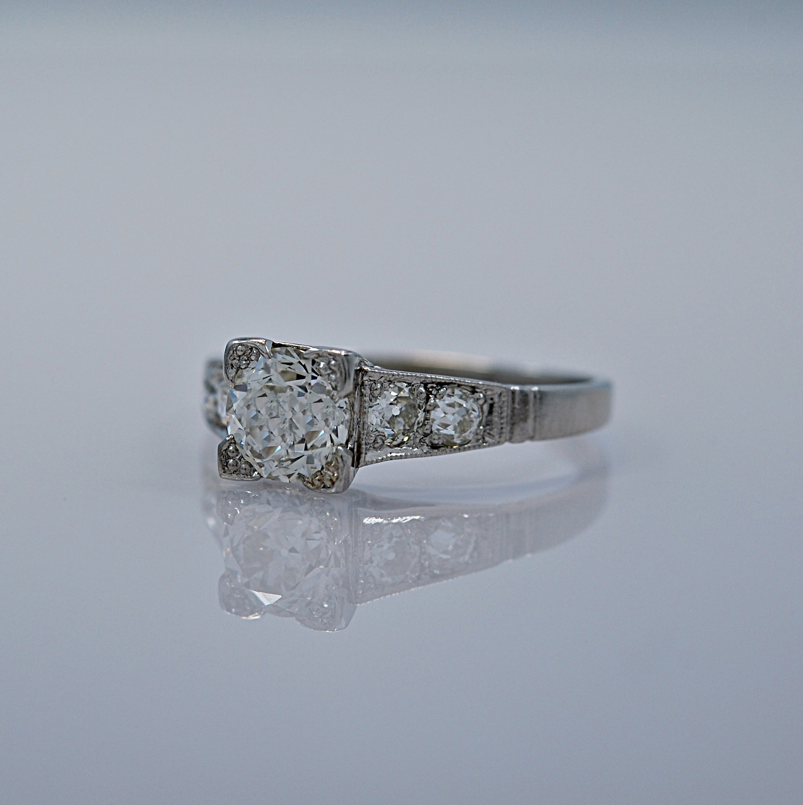 121-ct-diamond-platinum-art-deco-engagement-ring