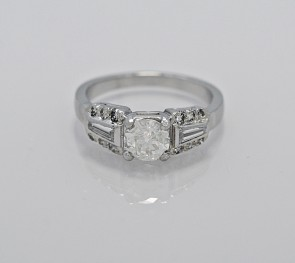 Platinum-Diamond-Art-Deco-Engagement-Ring