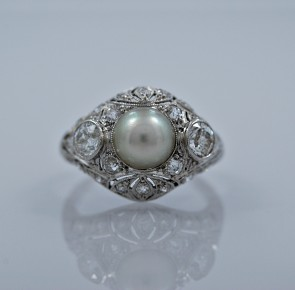 175ct-art-deco-pearl-diamond-engagement-ring