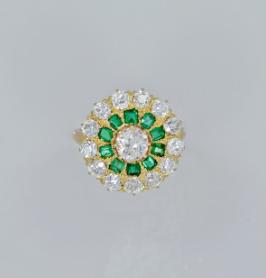 edwardian-emerald-diamond-fashion-ring