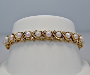 estate-pearl-diamond-straight-bracelet