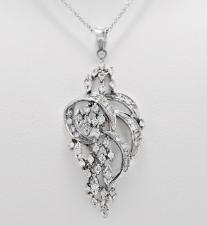 cheap-antique-diamond-necklace