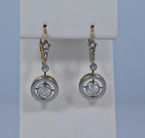 dangle-diamond-earrings