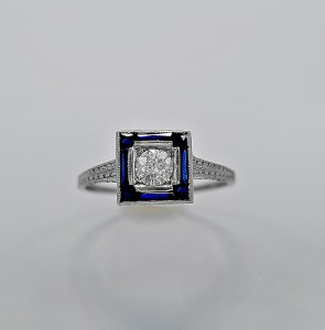 art-deco-diamond-sapphire-gold-33ct-engagement-ring