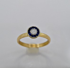 gold-sapphire-cheap-used