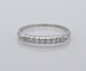 Platinum-Diamond-Anniversary-Band-Art-Deco