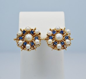 175ct-sapphire-pearl-earrings-vintage
