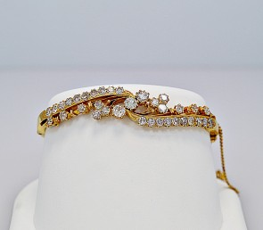 edwardian-22k-yellow-gold-bangle-bracelet