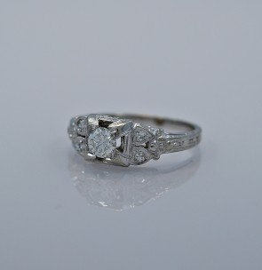 33-ct-diamond-gold-art-deco-engagement-ring