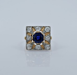 1-85ct-sapphire-diamond-yellow-white-gold-art-deco-engagement-fashion-ring