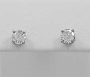 Palladium-14K-White-Gold-Diamond-Earrings