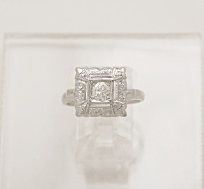 Art-Deco-Diamond-Ring-14K-White-Gold