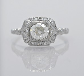 Diamond-Platinum-Ring-Art-Deco