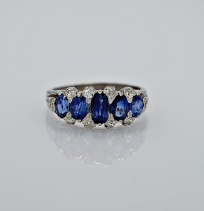 estate-diamond-sapphire-gold-ring