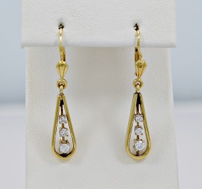cheap-used-earrings-gold