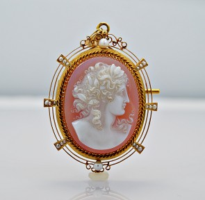 edwardian-18k-yellow-gold-sardonyx-cameo-brooch