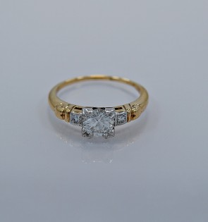 73-ct-diamond-gold-art-deco-engagement-ring