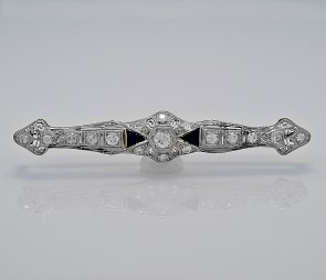 antique-diamond-sapphire-pin
