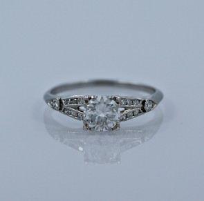 60-ct-diamond-platinum-art-deco-engagement-ring-head-on