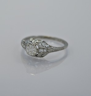 45ct-diamond-platinum-art-deco-engagement-ring