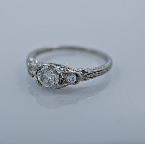 50-ct-diamond-platinum-art-deco-engagement-ring