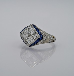 art-deco-diamond-160-platinum-sapphire-engagement-ring