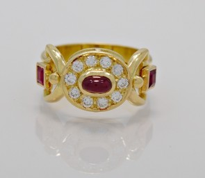 Fashion-Ring-Ruby-Diamond-Art-Deco