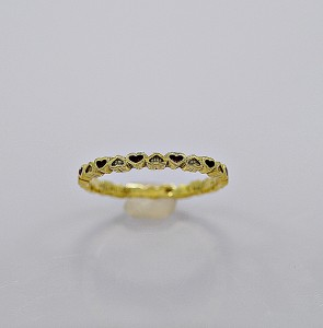 red-enamel-18k-yellow-gold-eternity-band-hidalgo