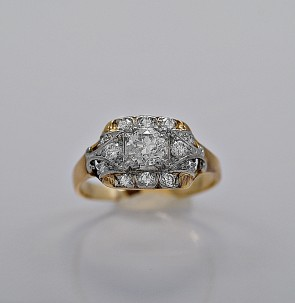 art-deco-diamond-platinum-yellow-gold-40ct-engagement-ring