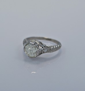 115-ct-diamond-platinum-art-deco-engagement-ring