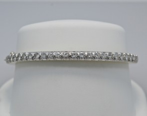 Bangle-Bracelet-Diamond-Estate-18K-Gold