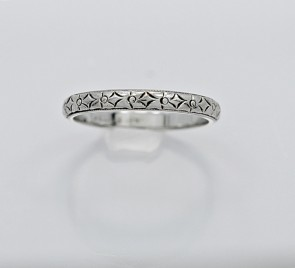 Art-Deco-18K-White-Gold-Band