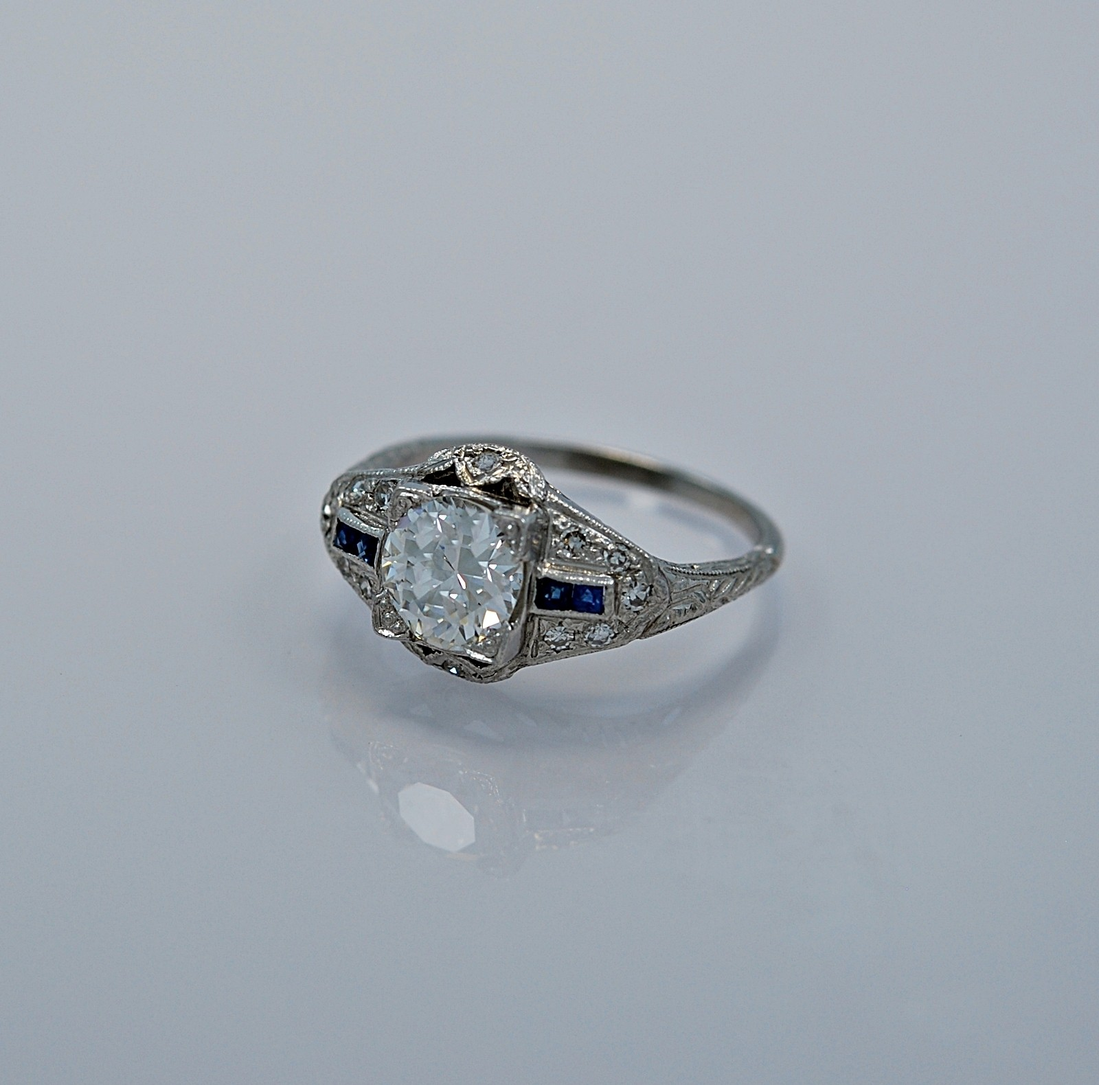 107-ct-diamond-sapphire-platinum-art-deco-style-engagement-ring