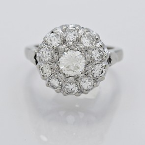 Vintage-Ring-Diamond-14K-White-Gold-J34786